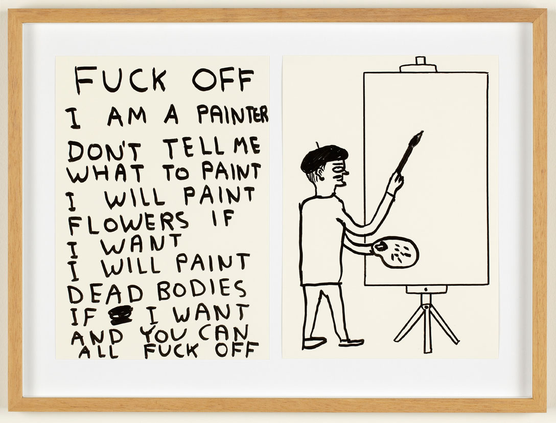 Artists that inspire us – David Shrigley