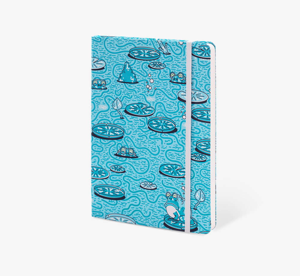Pondlife' A5 Notebook by The EditionsStationery| Bookblock