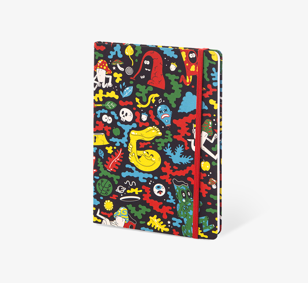 Woodlands' A5 Notebook by The EditionsStationery| Bookblock