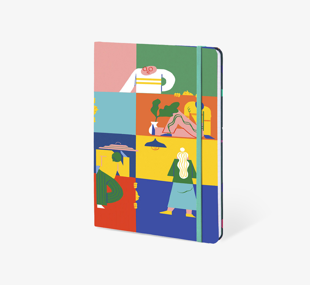 Hide and Seek' A5 Notebook by The EditionsStationery| Bookblock