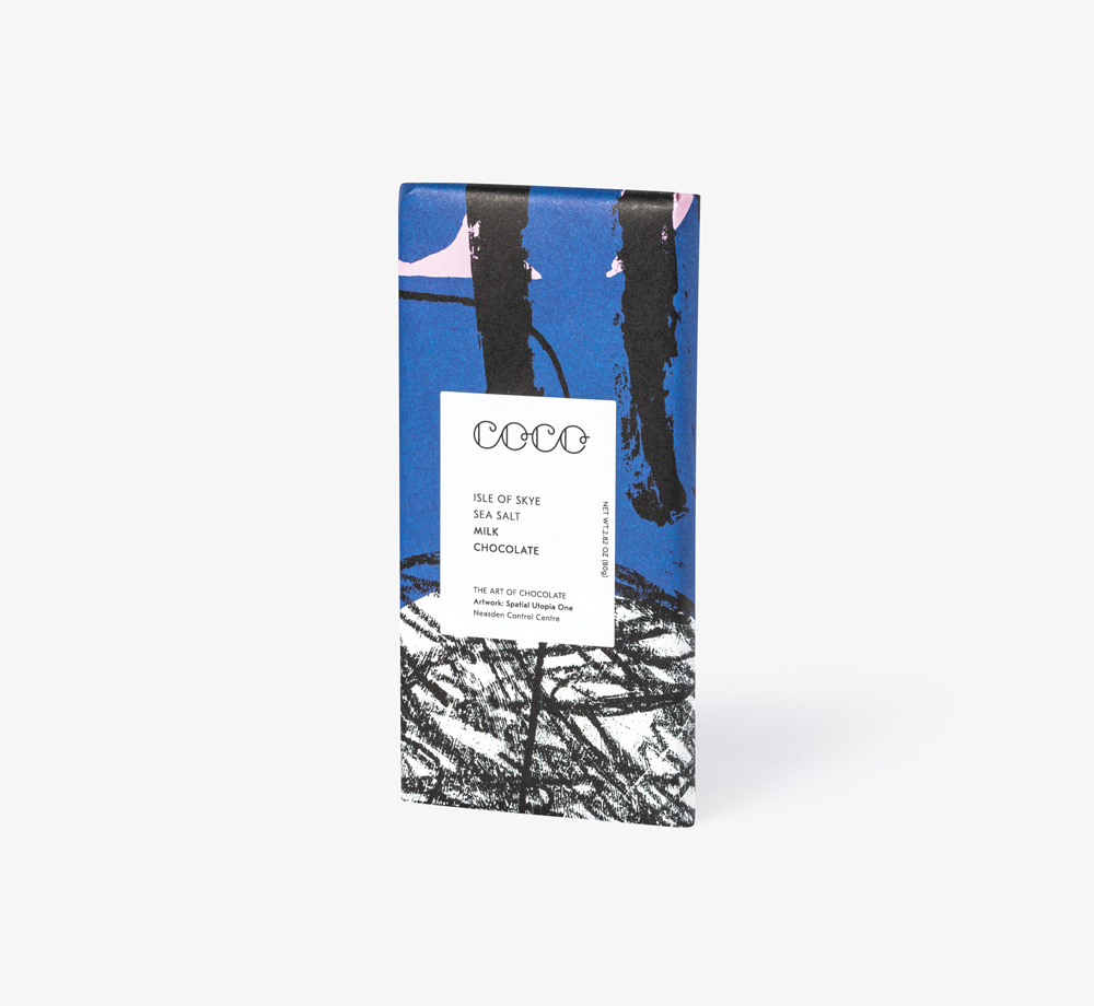 Isle of Skye Sea Salt Milk Chocolate by Coco Chocolatier - Bookblock Shop Eat & Drink