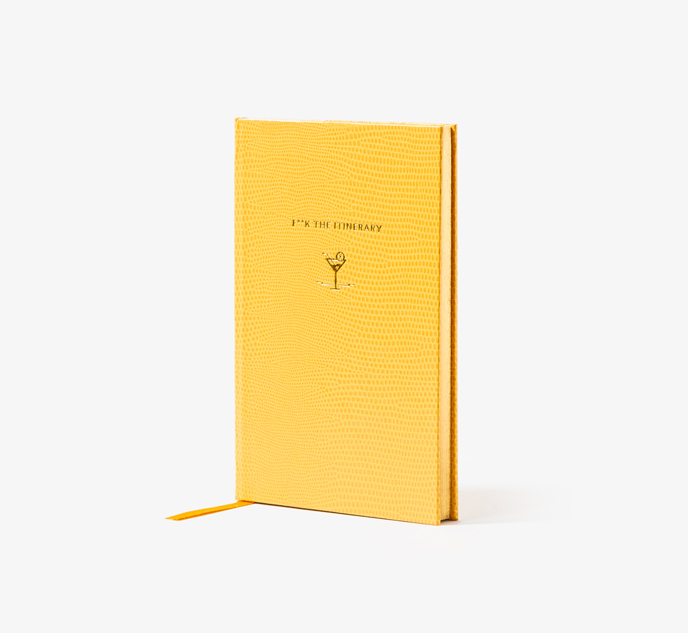 Croq F**k the Itinerary by Bookblock - Bookblock Shop Stationery