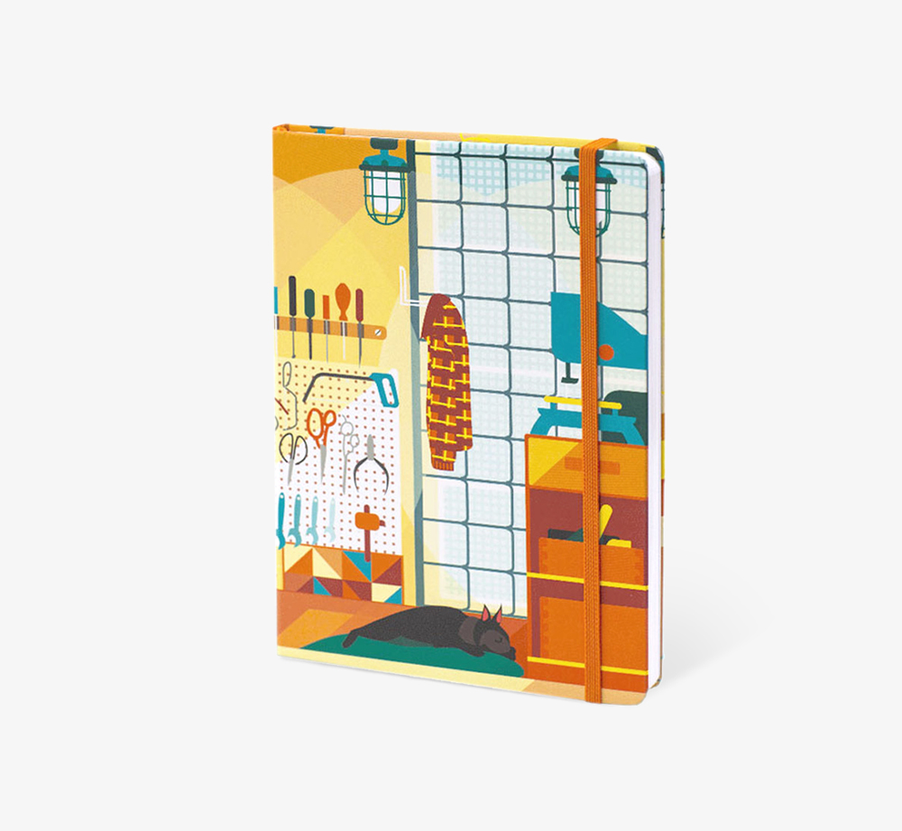 The Department of Aesthetics' A5 Notebook by The Editions - Bookblock Shop Stationery