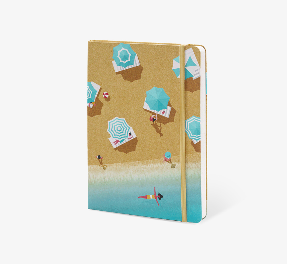 Beach' A5 Notebook by The EditionsStationery| Bookblock