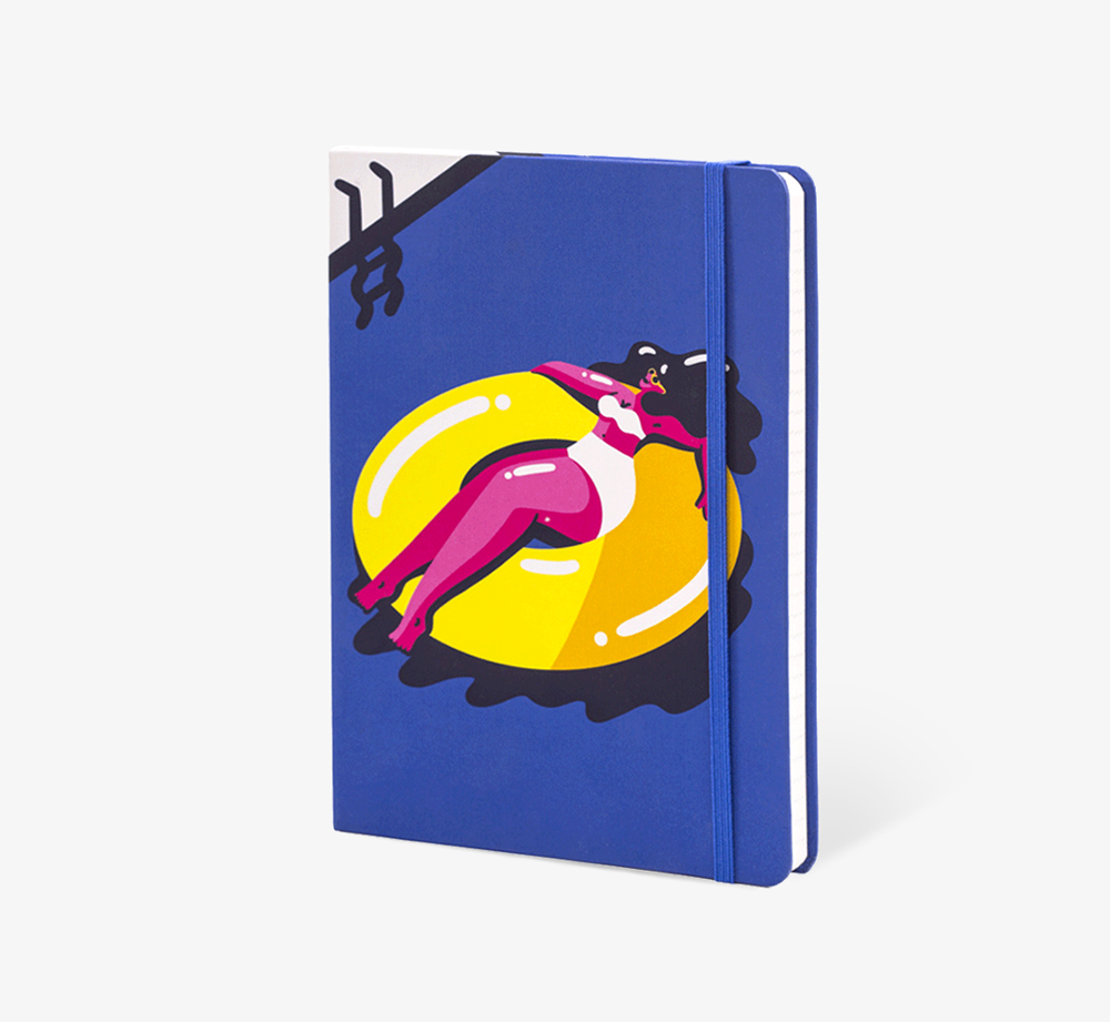 Rubber Ring' A5 Notebook by The Editions - Bookblock Shop Stationery