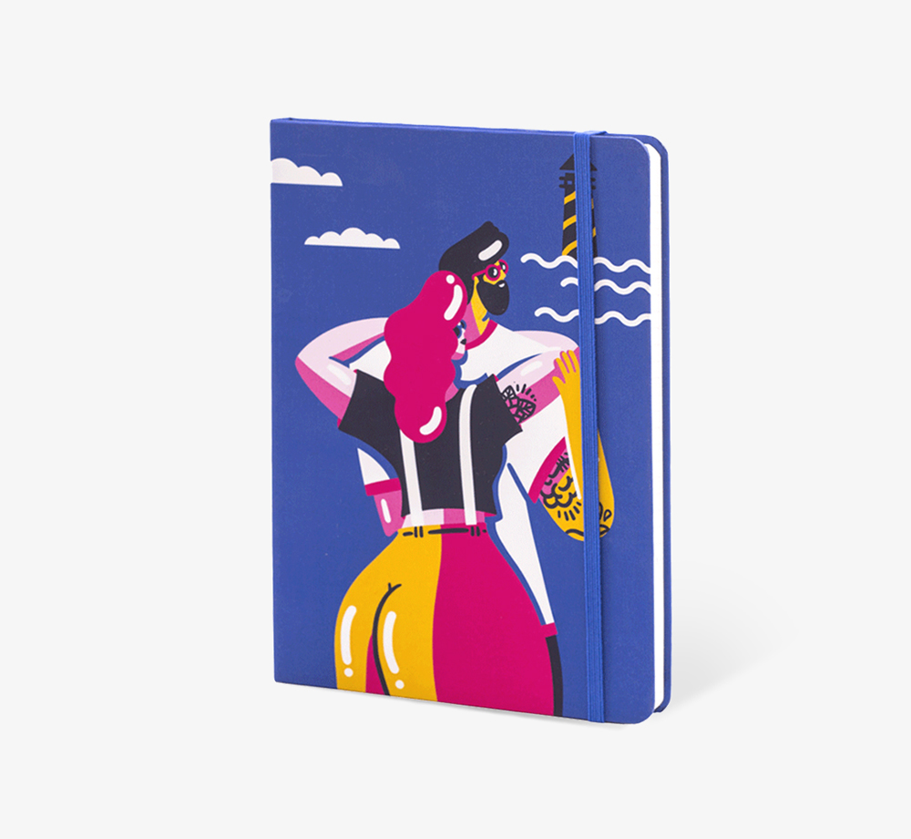 Sea Lovers' A5 Notebook by The Editions - Bookblock Shop Stationery