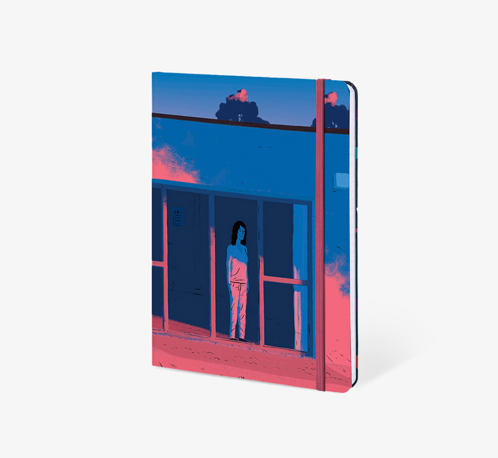 Dusk' A5 Notebook by The Editions - Bookblock Shop Stationery