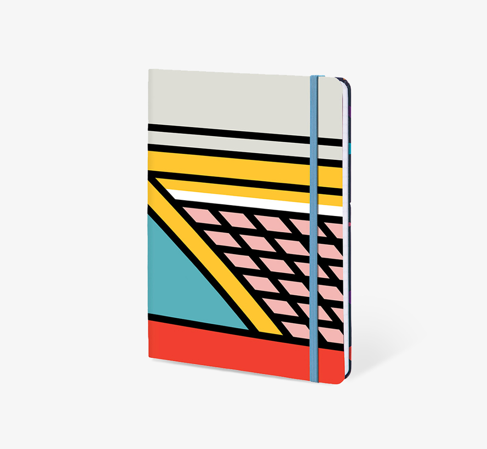 Structure' A5 Notebook by The Editions - Bookblock Shop Stationery