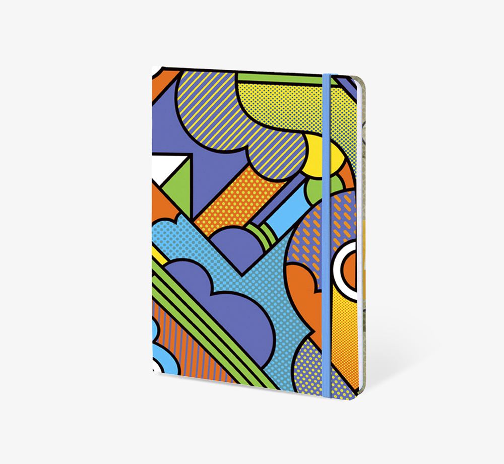Smoke' A5 Notebook by The EditionsStationery| Bookblock