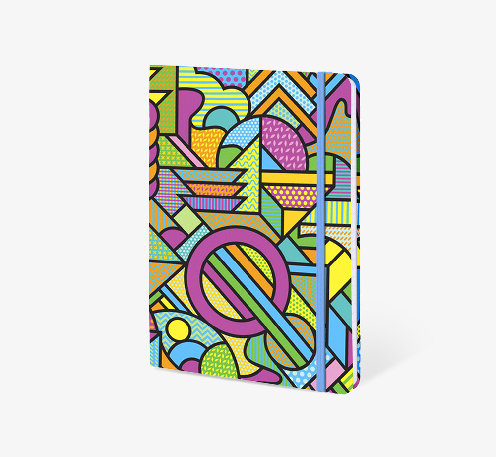 Industrial' A5 Notebook by The EditionsStationery| Bookblock