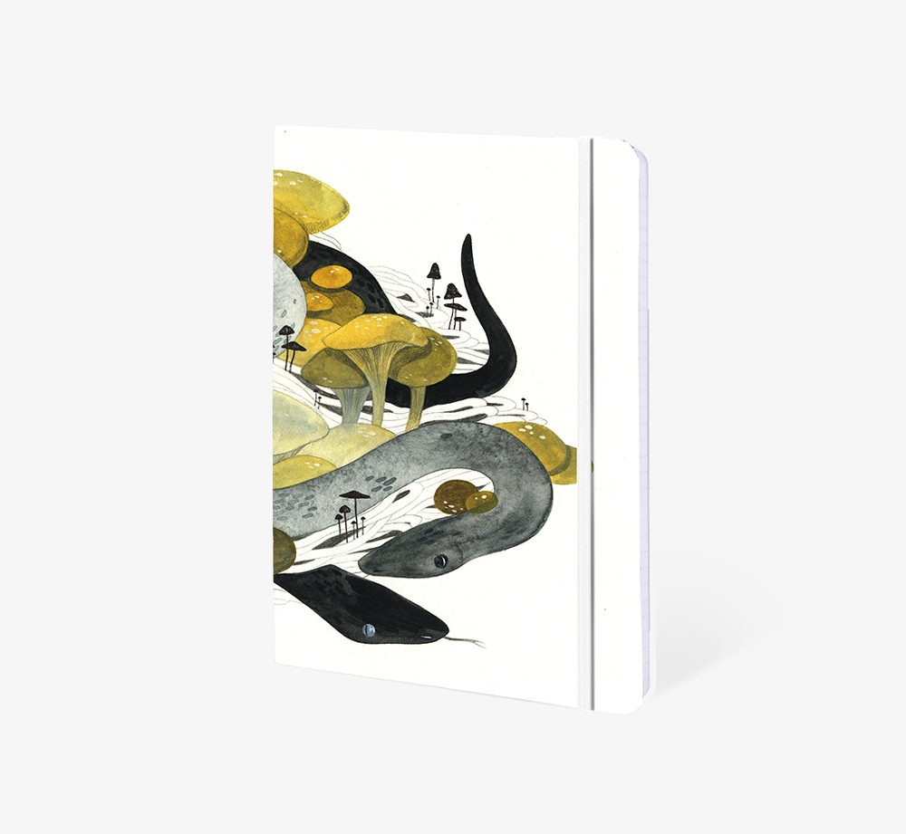 Nest' A5 Notebook by The Editions - Bookblock Shop Stationery