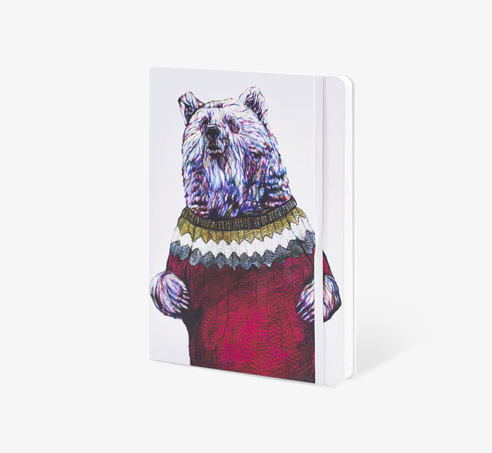 Brian' A5 Notebook by The Editions - Bookblock Shop Stationery