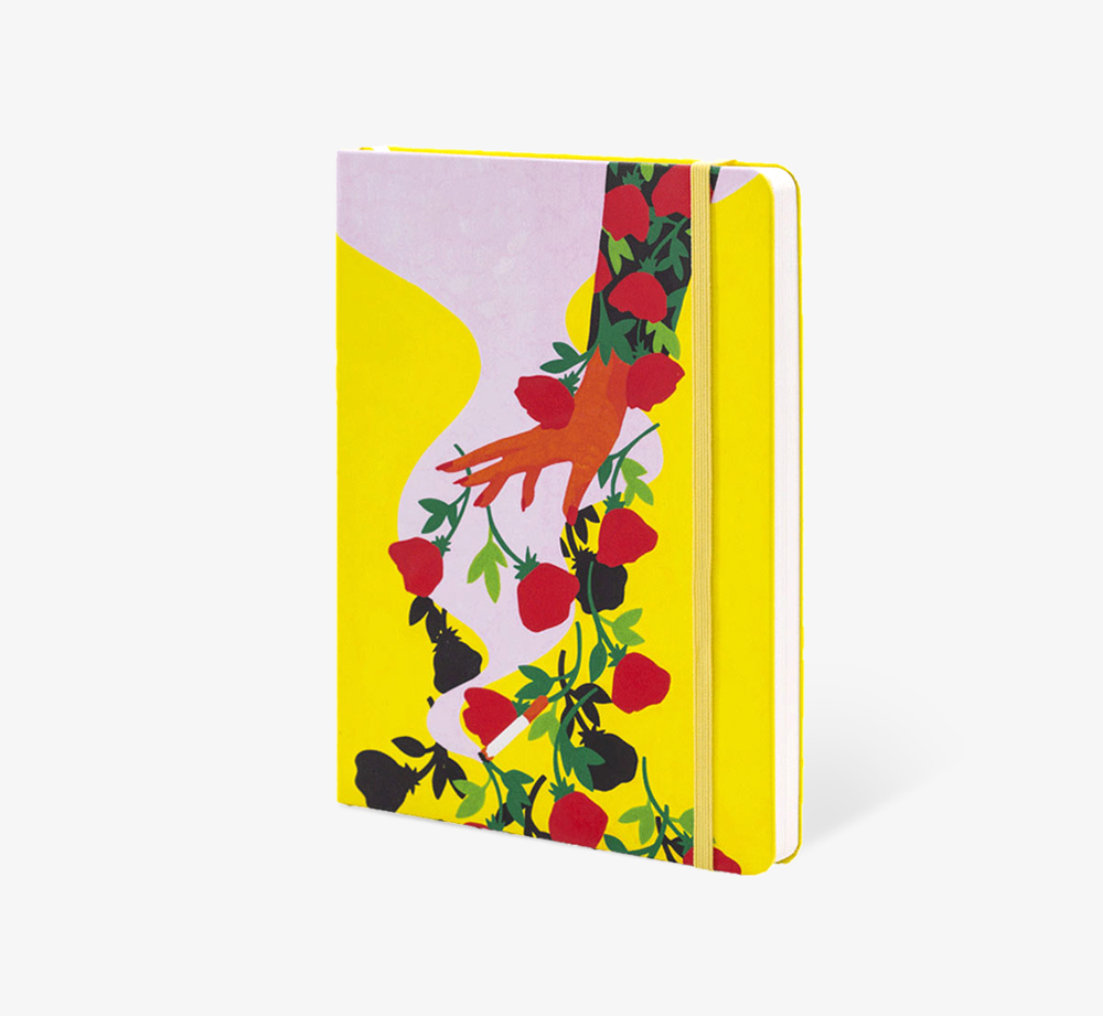 Pink Smoke' A5 Notebook by The EditionsStationery| Bookblock