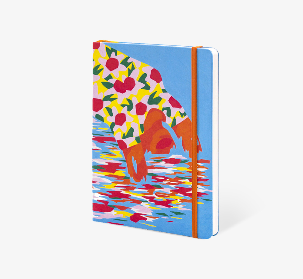 The Bridge' A5 Notebook by The Editions - Bookblock Shop Stationery