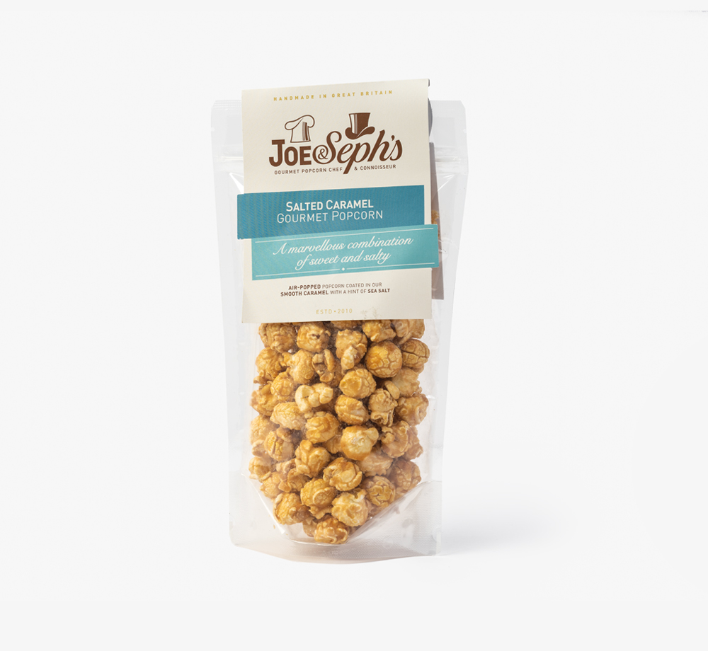 Salted Caramel Popcorn by Joe & Seph'sEat & Drink| Bookblock