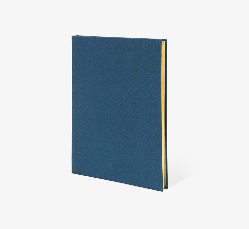 Blue Weskin Cloth Bound Notebook by Bookblock - Bookblock Shop Stationery