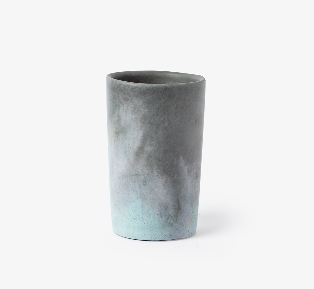 Concrete Vase by GRØN - Bookblock Shop Home