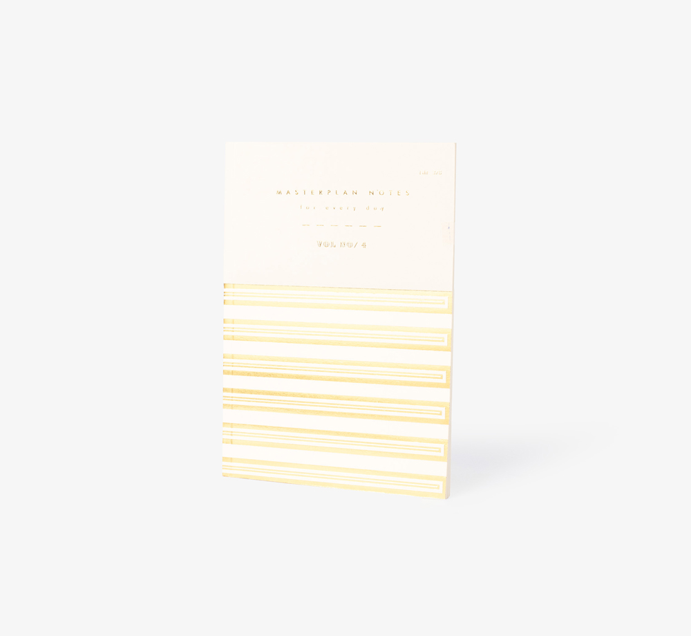 Pimlico Masterplan Notes Cream by Bookblock - Bookblock Shop Stationery