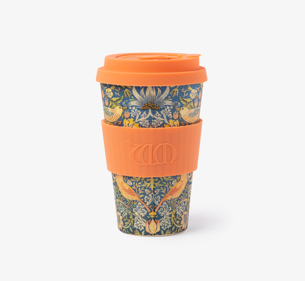 William Morris Thief Reusable Coffee Cup 14oz by Ecoffee CupEat & Drink| Bookblock