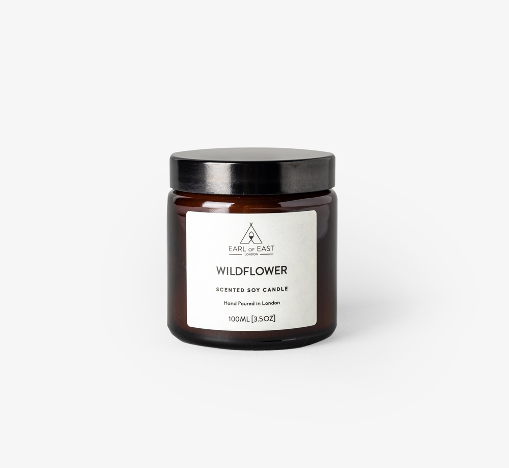 Wildflower 100ml Candle by Earl of East - Bookblock Shop Home