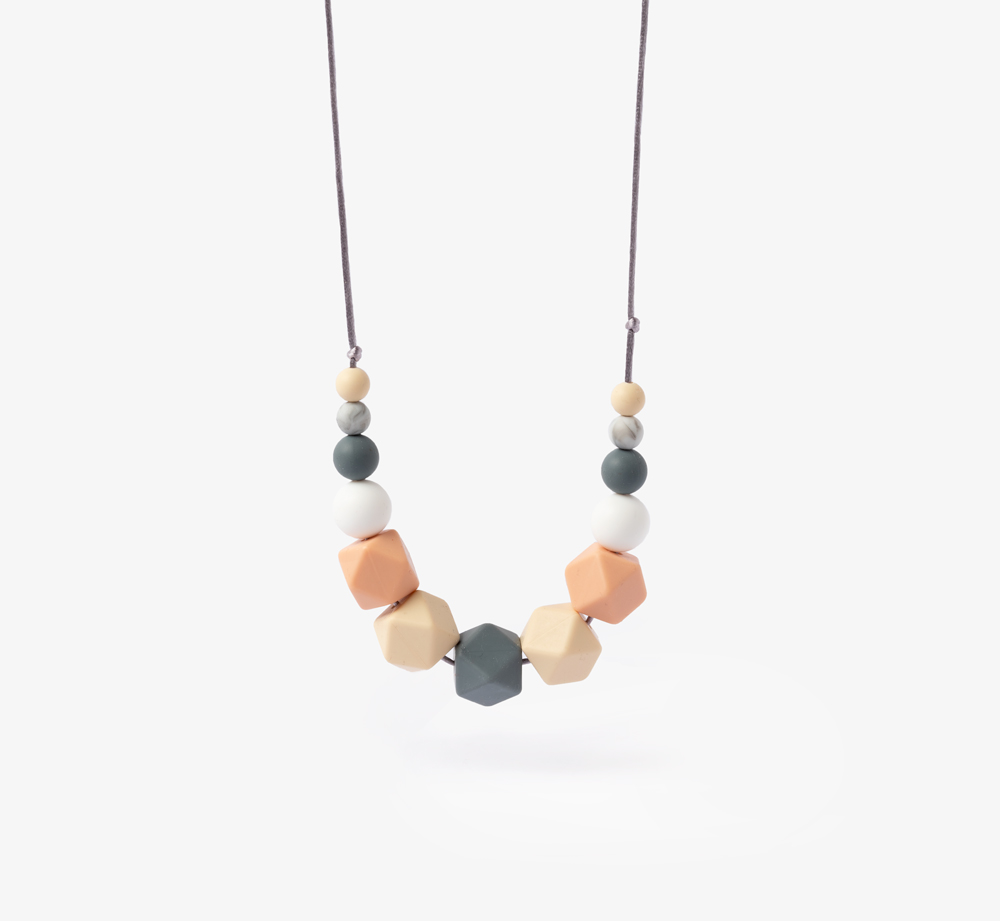 Spring Teething Necklace by Mama Knows - Bookblock Shop Baby & Kids