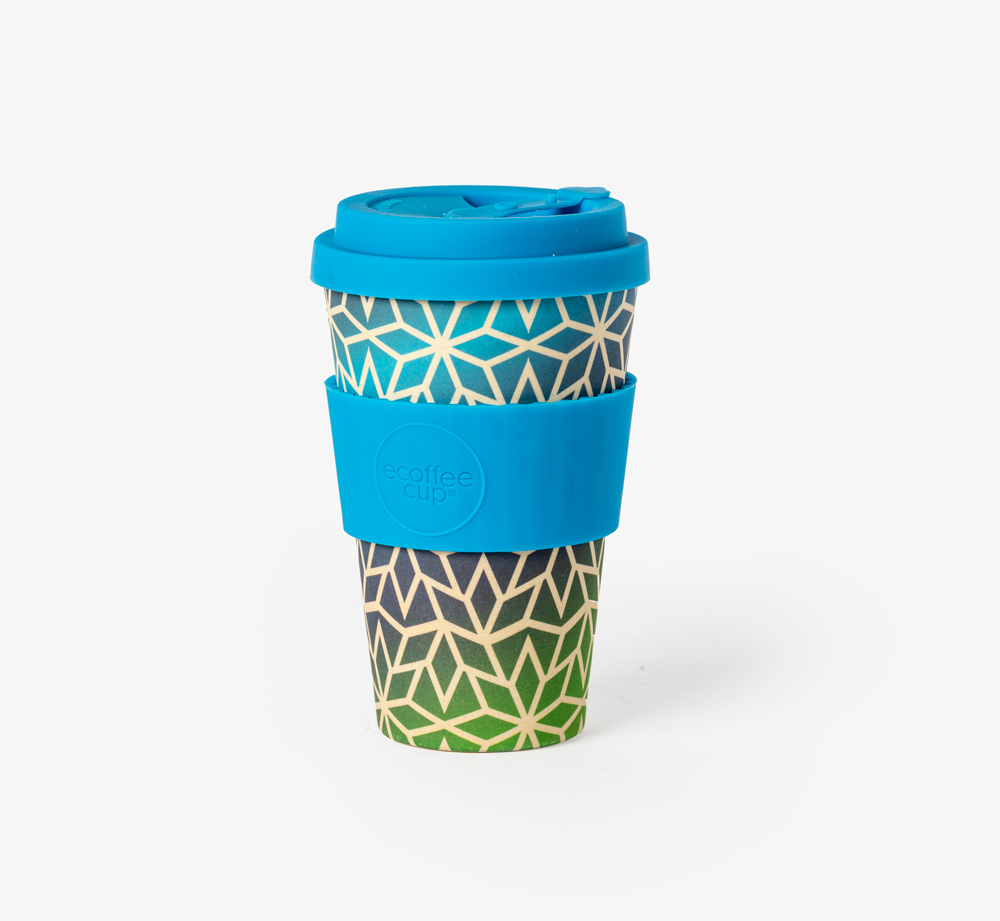 Stargate Reusable Coffee Cup 14oz by Ecoffee Cup - Bookblock Shop Eat & Drink