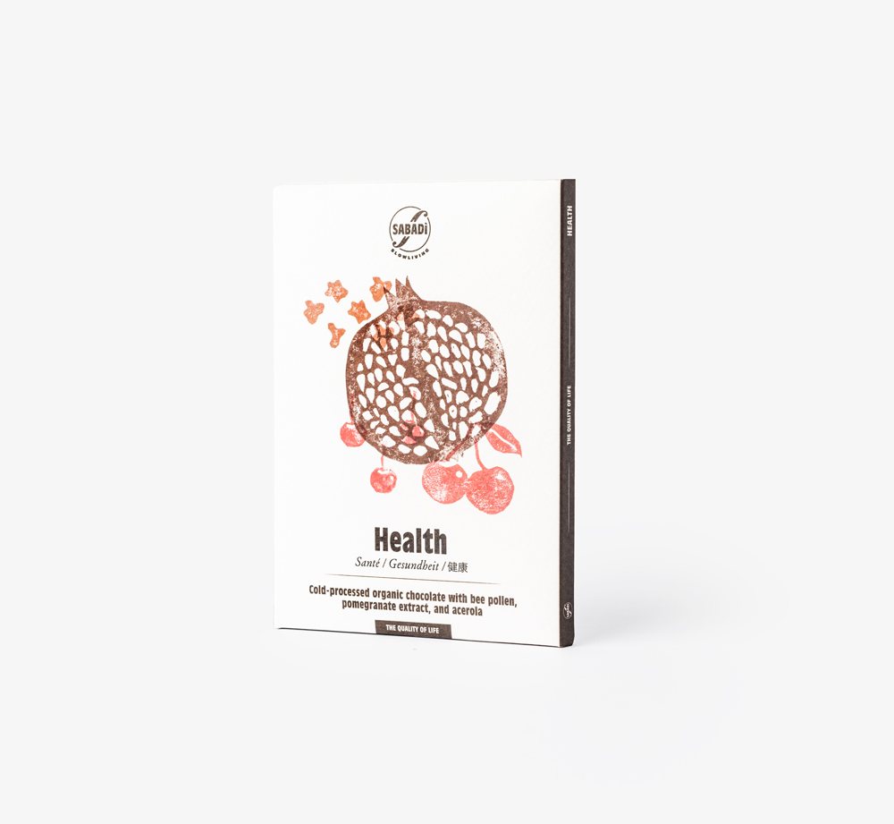 Cold Pressed Organic Chocolate – HEALTH by SabadiEat & Drink| Bookblock