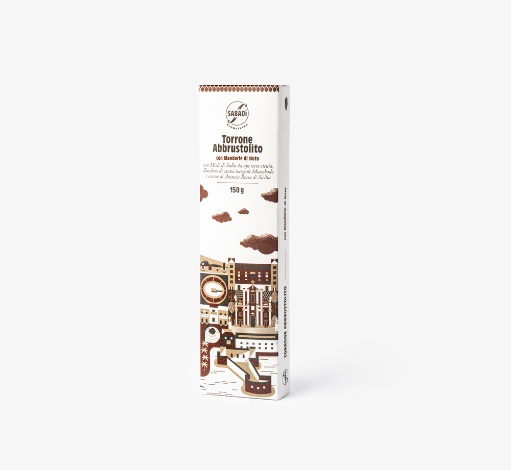 Toasted Nougat with Almonds and Muscovado by SabadiEat & Drink  Bookblock
