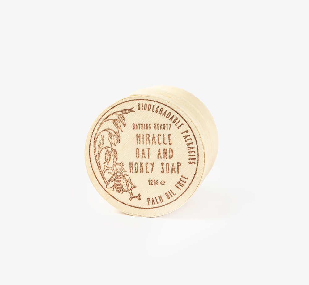 Miracle Oat and Honey Soap by Bathing Beauty Natural SkincarePamper| Bookblock