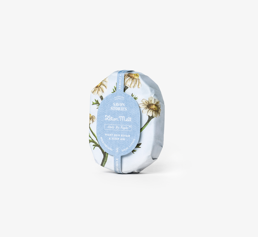 Only By Night Lotion Melt by Savon Stories - Bookblock Shop Pamper