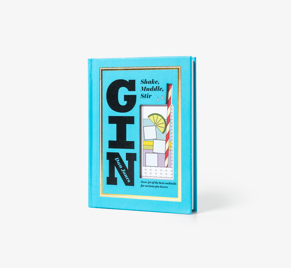 Gin Shake Muddle Stir by Dan Jones - Bookblock Shop Books