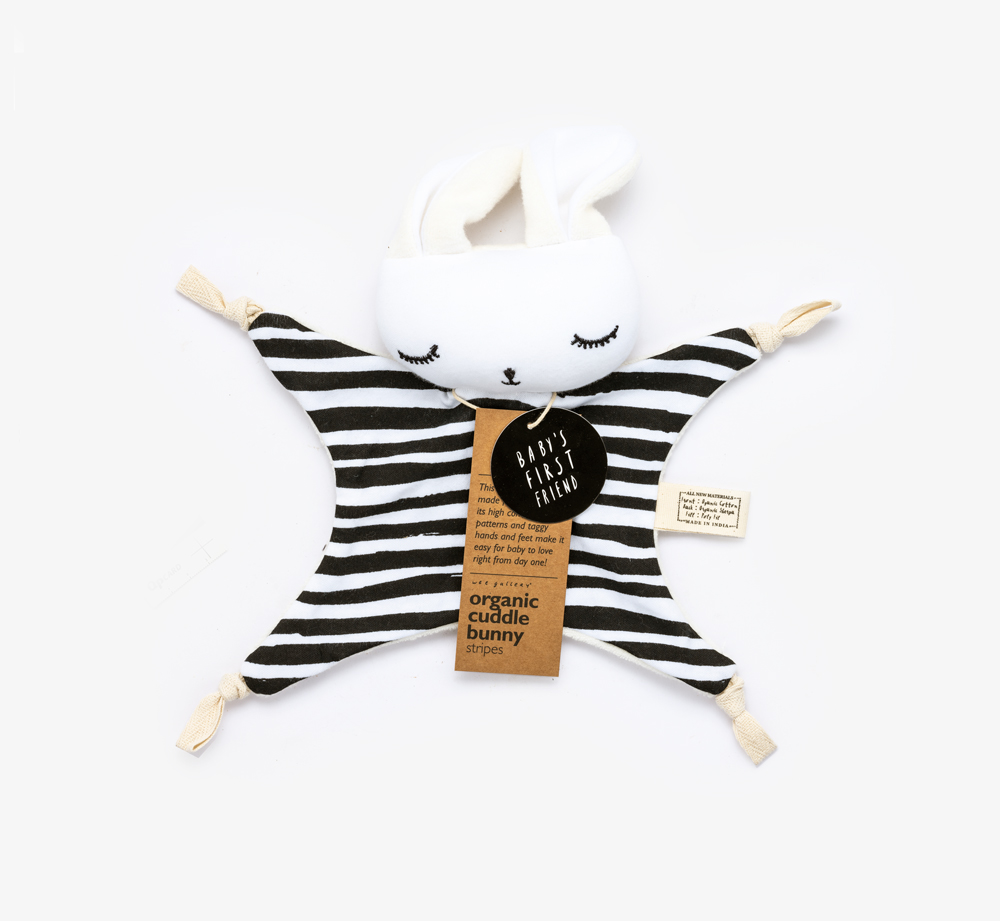 Cuddle Bunny Stripes by Wee GalleryBaby & Kids| Bookblock