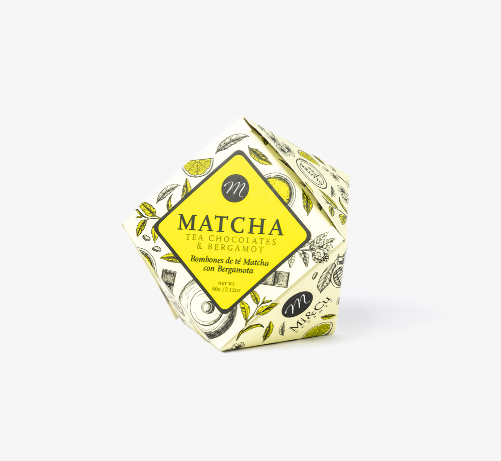 Matcha Tea Bergamot Chocolate by Mi&CuEat & Drink| Bookblock