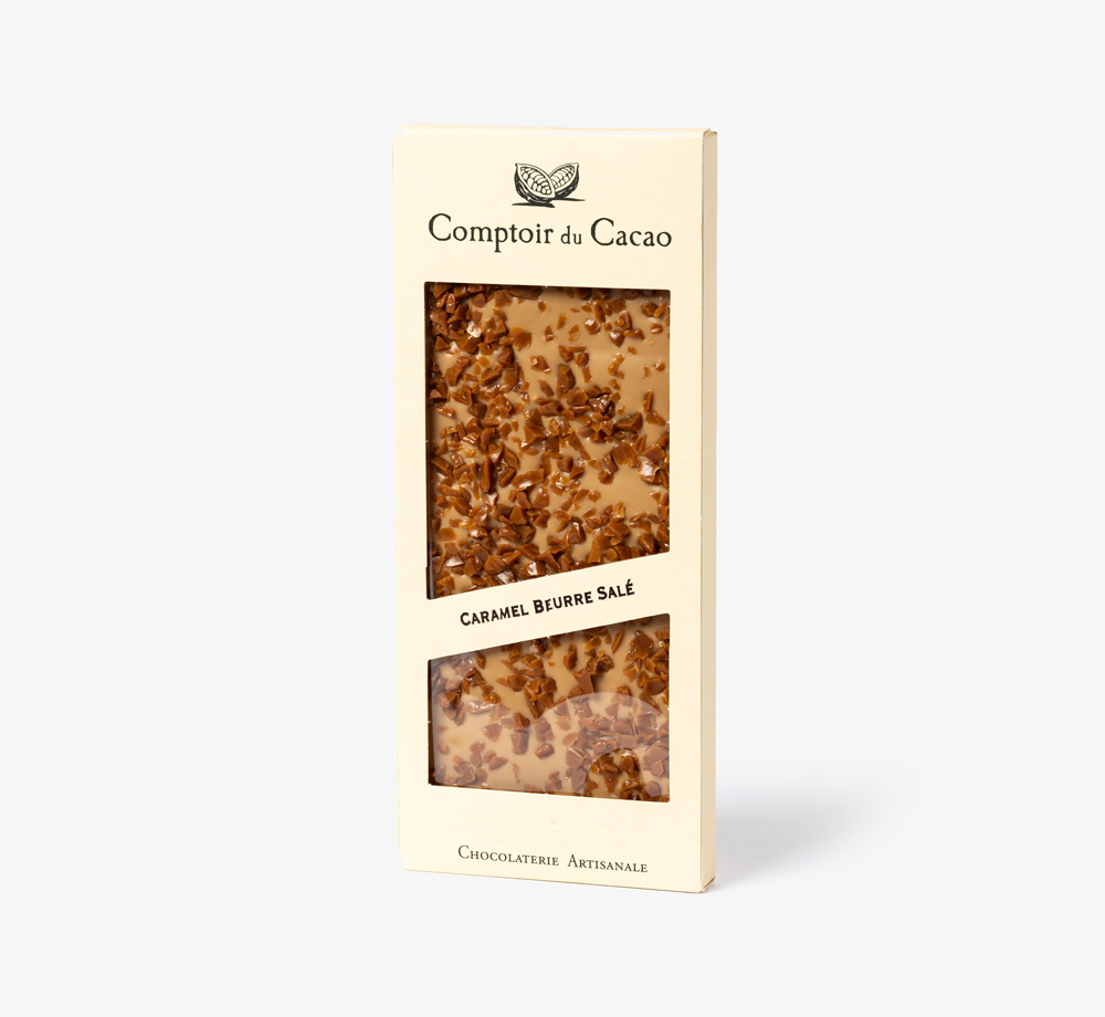 Blonde Chocolate with Salted Caramel by Comptoir du CacaoEat & Drink| Bookblock