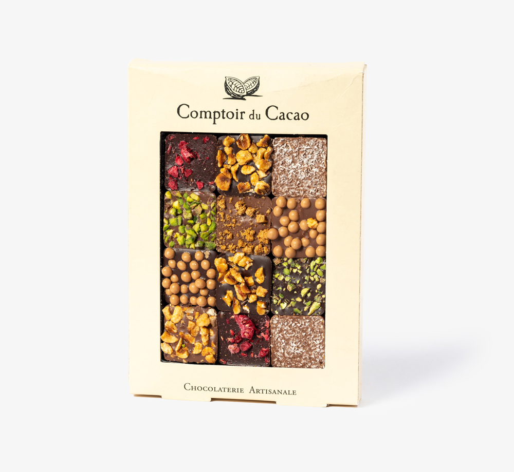 Box of 12 Mixed Pralines by Comptoir du CacaoEat & Drink| Bookblock