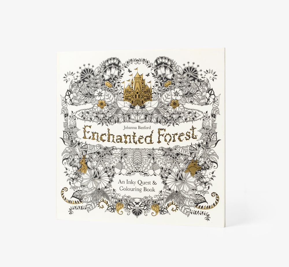 An Enchanted Colouring Book by Johanna Basford - Bookblock Shop Books