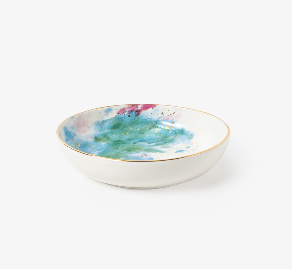 Cosmos Bowl Blue by PorlandHome| Bookblock