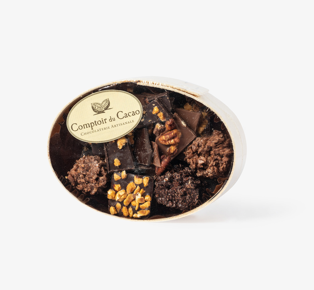 Chocolate Assortment Gift Box 130g by Comptoir du Cacao - Bookblock Shop Eat & Drink