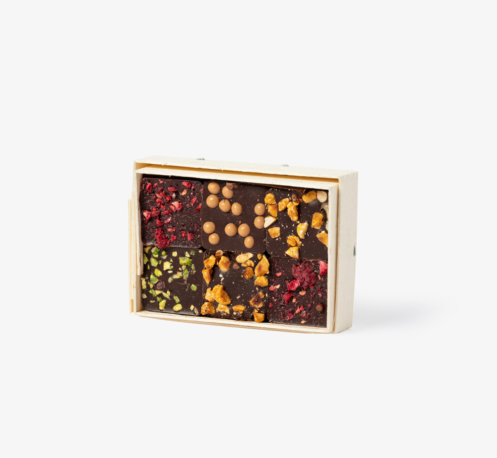 Praline Gift Box by Comptoir du Cacao - Bookblock Shop Eat & Drink