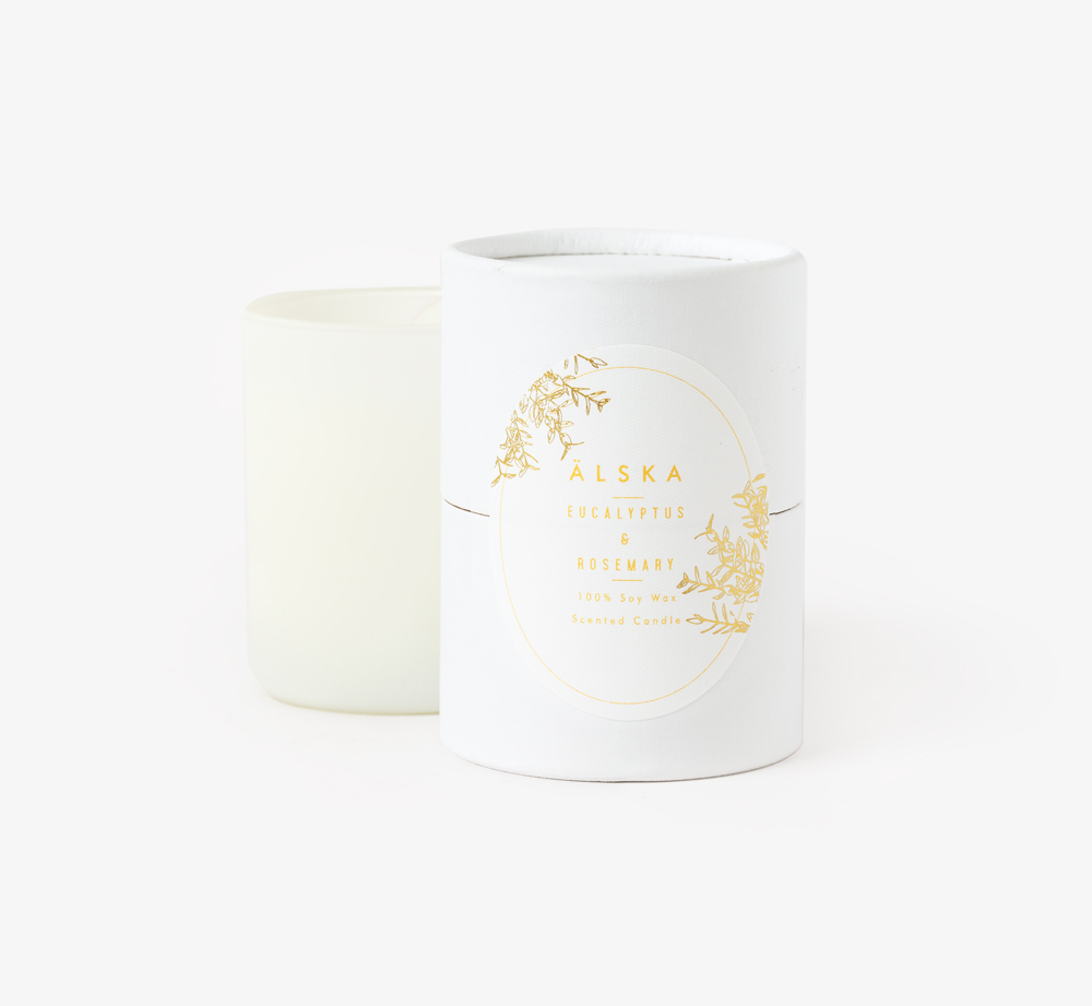 Eucalyptus Candle by Älska - Bookblock Shop Home