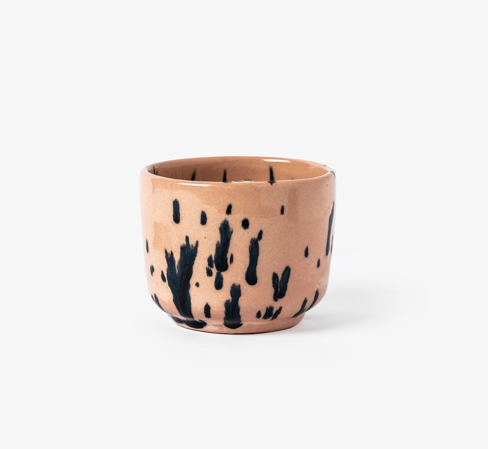 Dotted Peach Cup by Bookblock - Bookblock Shop Home