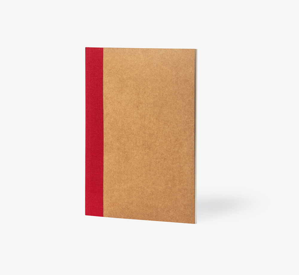 Oslo A5 Everyday Perfect Bound Notebook Red by BookblockStationery| Bookblock