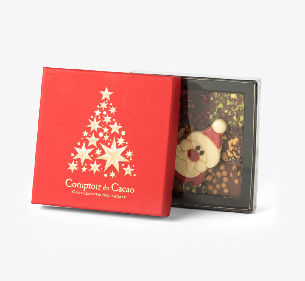 Christmas Praline Gift Box by Comptoir du Cacao - Bookblock Shop Eat & Drink