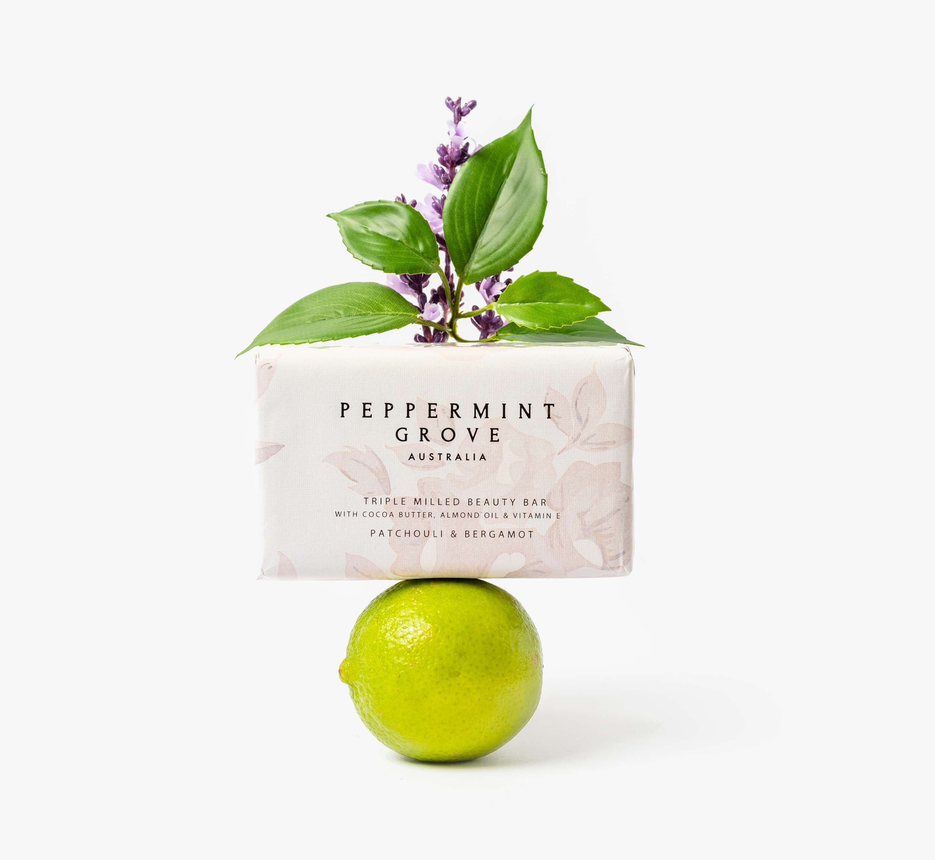 Peppermint Grove beauty bar with freesia and berries