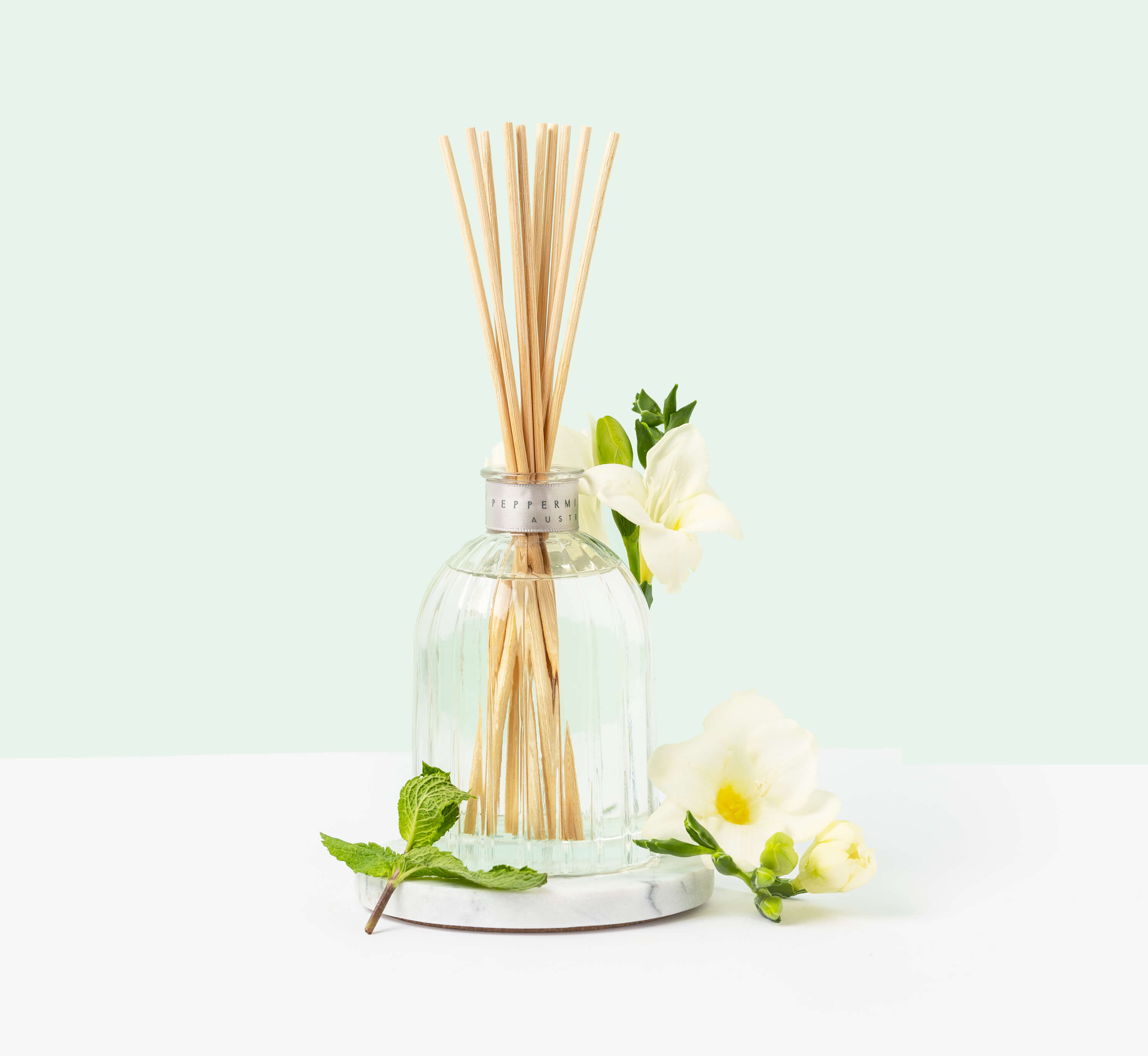 Peppermint Grove mint and jasmine reed diffuser