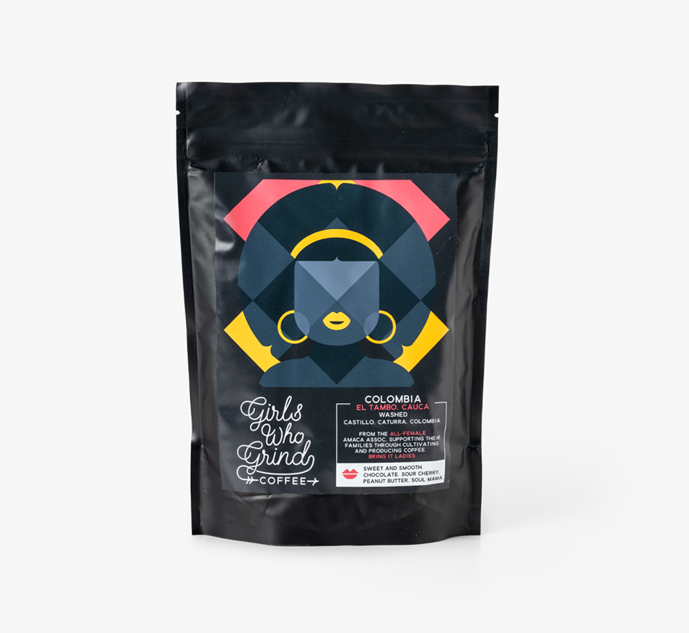 Colombia AMACA Espresso Coffee by Girls Who GrindTea & Coffee| Bookblock