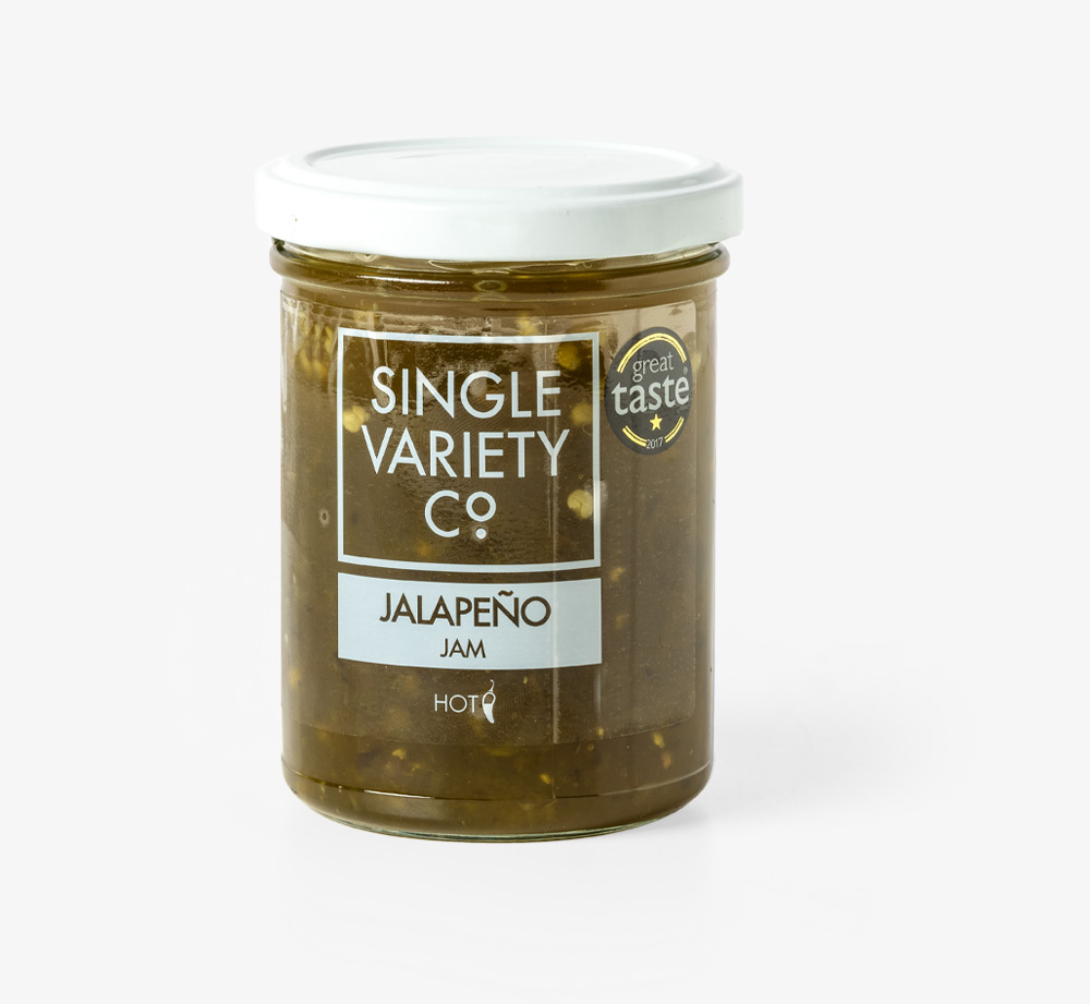 Hot Jalapeño Jam by Single Variety Co - Bookblock Shop Eat & Drink
