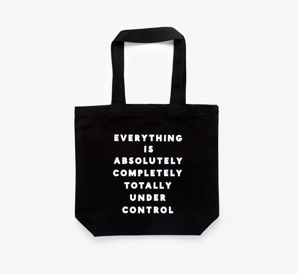 'Under Control' Canvas Tote Bag by Alphabet BagsBaby & Kids| Bookblock