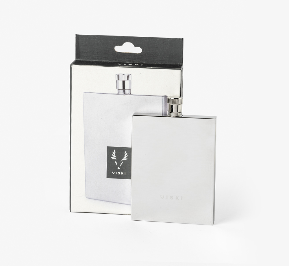 Harrison Slim Flask by ViskiHome| Bookblock