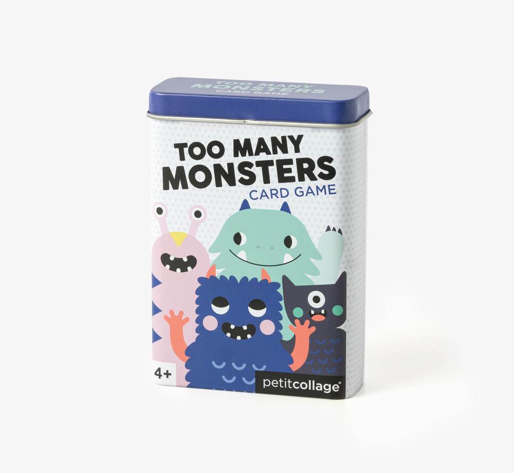 Too Many Monsters Tin Card Game by Petit CollageBaby & Kids| Bookblock